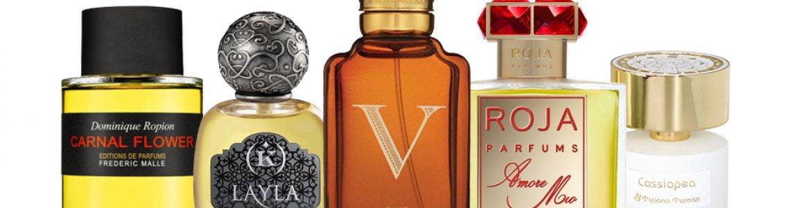 Exclusive perfumes (Niche
