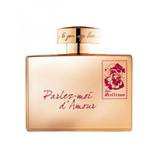 JOHN GALLIANO Parlez-Mor D'amour Gold Edtion (W) EDT 80 ML